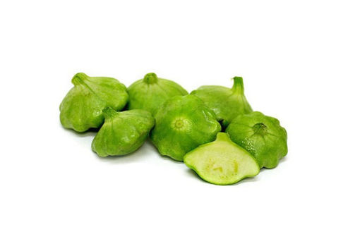 Picture of Green Patty Pan - Punnet