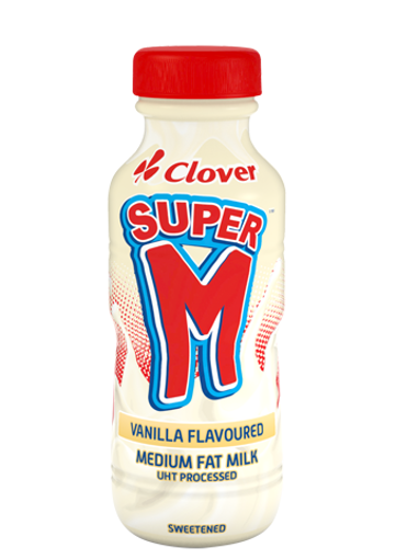 Picture of Super M's Vanilla flavour - 6 x 300ml