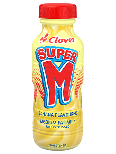Picture of Super M's Banana flavour - 6 x 300ml