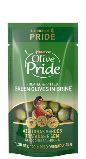 Picture of Clover Green Olives In Brine - 120g