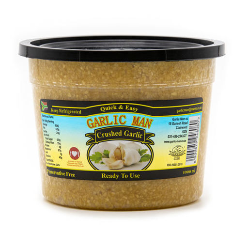 Picture of Crushed Garlic - 1kg Tub