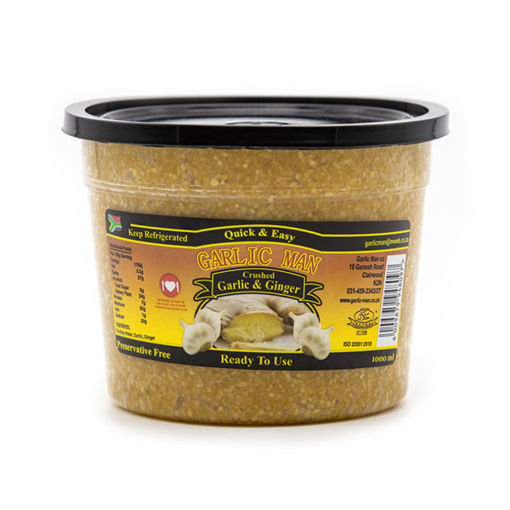 Picture of Crushed Ginger and Garlic - 1kg Tub