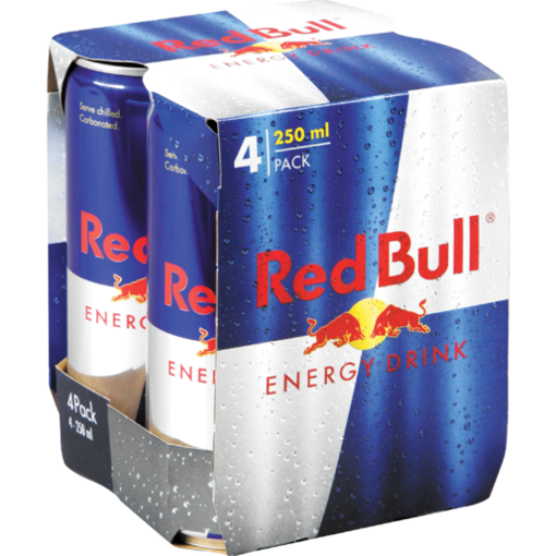 Picture of Red Bull - 4 x 250ml Pack