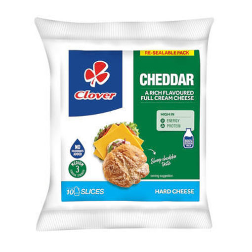 Picture of Clover Natural Cheddar - 10 Slices