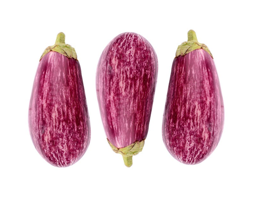 Picture of Exotic Brinjal / Eggplant - Pillow Pack 3's