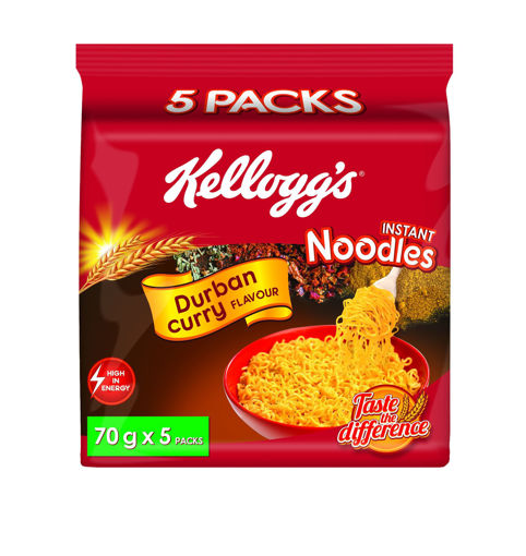 Picture of Kellogg's Noodles Durban Curry - 5 Pack