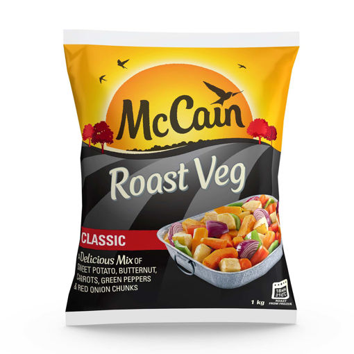 Picture of McCain Roast Vegetables Classic - 1kg