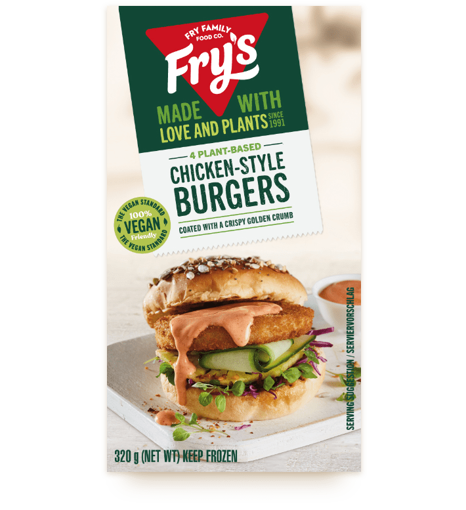 Picture of Fry's  Chicken-Style Burgers