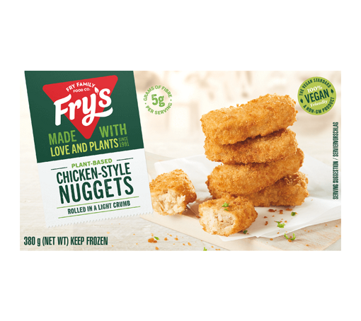 Picture of Fry's  Rice Protein & Chia Nuggets