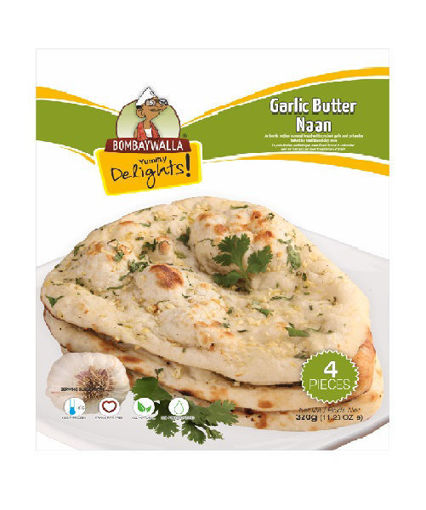 Picture of Garlic Butter Naan - 320g