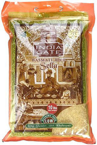 Picture of India Gate Basmati Rice (Sella) 5Kg