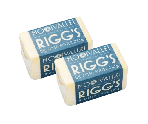 Picture of Rigg`s Butter UnSalted 250g - 2 for R50