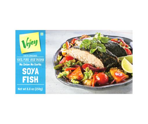 Picture of Vejoy - Soya Fish (Vegetarian -No Onion, No Garlic)
